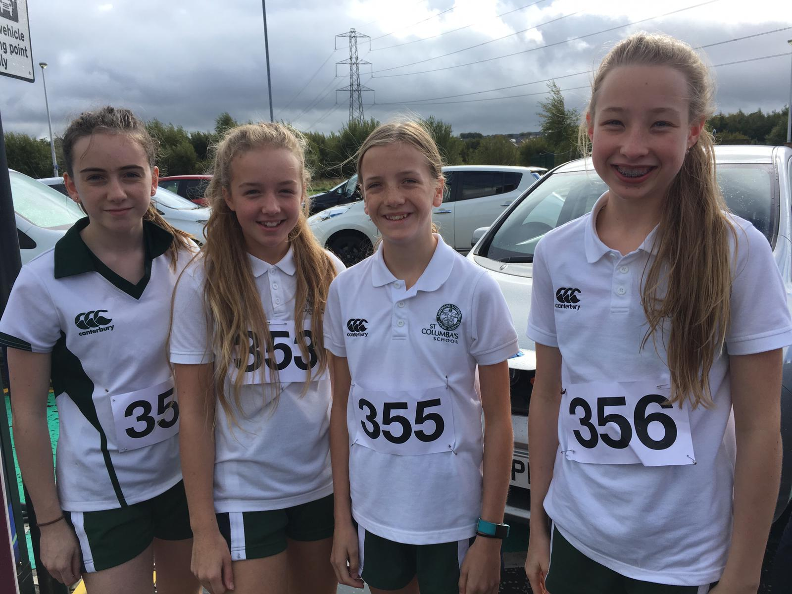 St Columba's Pupils Compete in SSAA Road Race