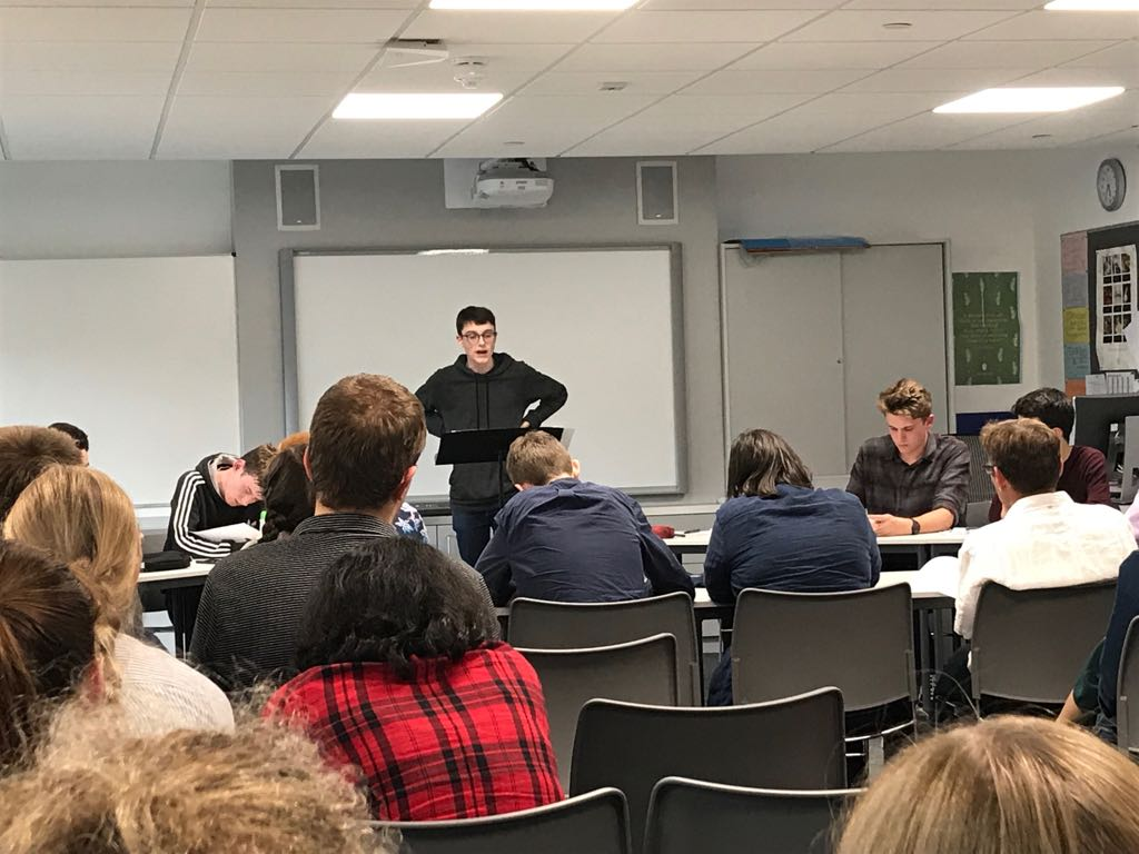 St Columba's West Coast Worlds Debating Competition