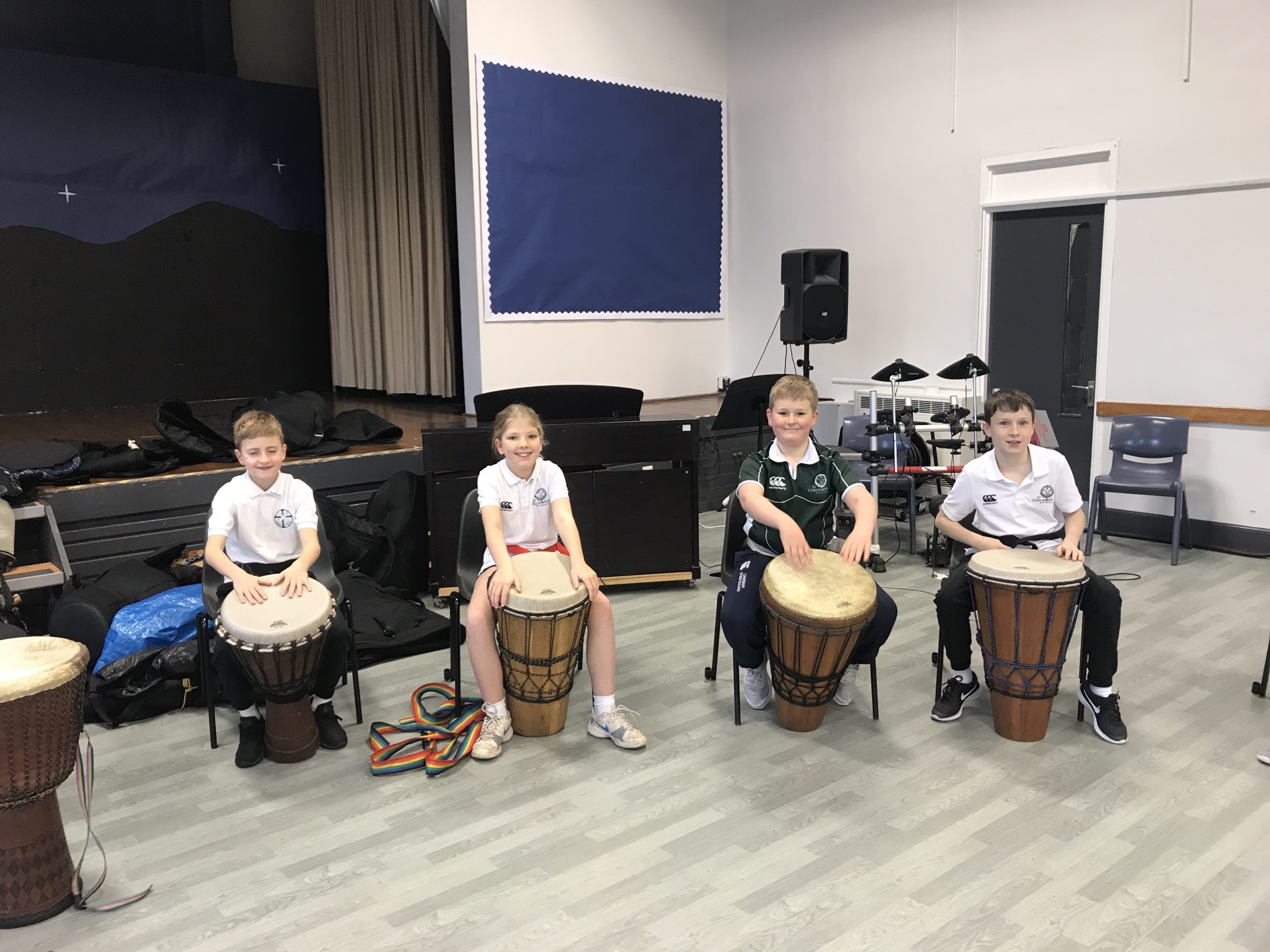 St Columba's Dance and Drumming Workshop