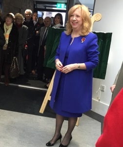 Eleanor Laing MP Opens Building