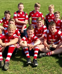 Rugby U-13s Win Tournament
