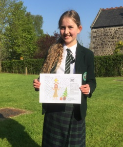 Pupil Shortlisted for Royal Mail Christmas Stamp Competition