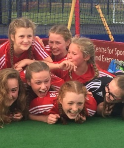 Girls Represent SW Scotland in U-14s
