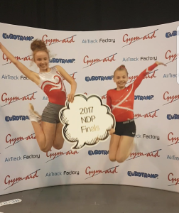 Pupil Becomes British 15-16 Ladies Trampolining Champion