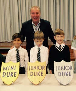 Mini and Junior Duke Award