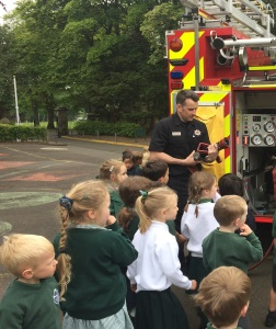 Blue Watch Visits Early Years
