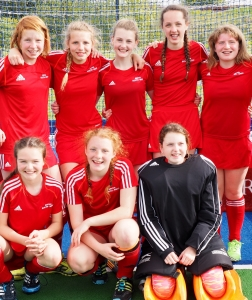Girls compete in Inter-District Hockey Tournament