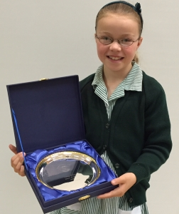 Eleanor wins District Competition