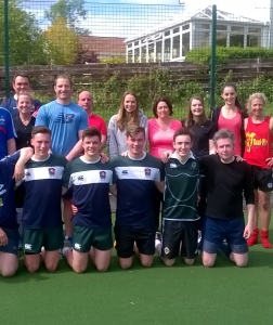 Staff Hockey and Football Matches