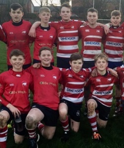 U15 Rugby Boys in Double Success