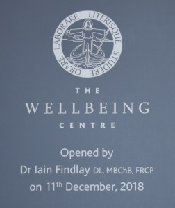 Wellbeing Centre Opening