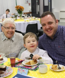 J2 Grandparents' Tea Party