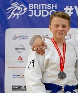Christopher Competes at Judo Championships