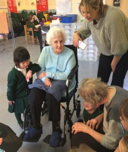 Campbell Snowdon Residents Visit Early Years