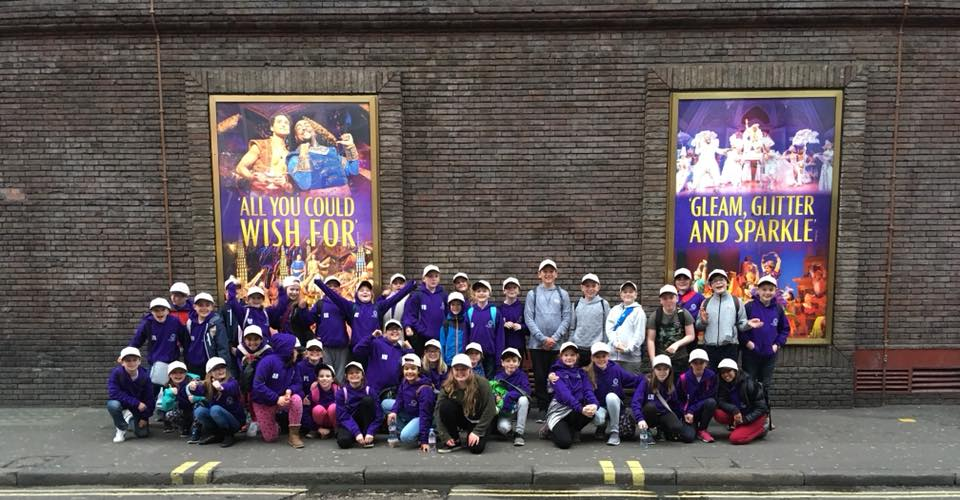 St Columba's Performing Arts Trip to London