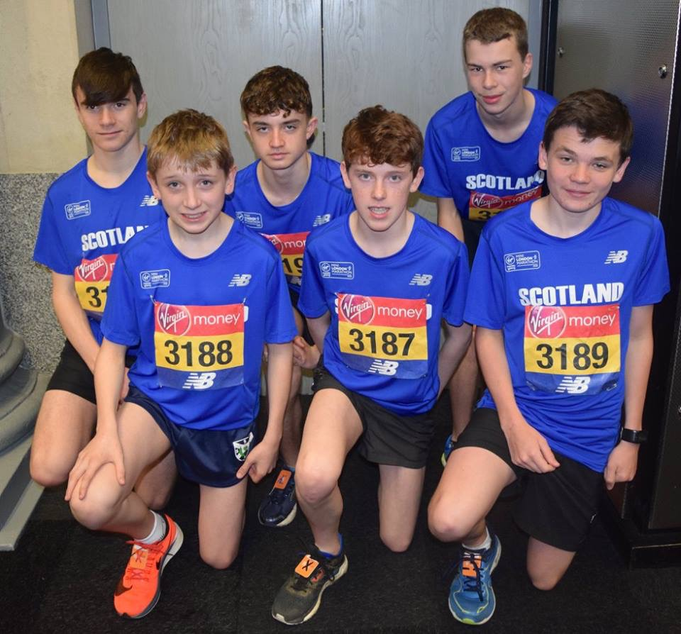St Columba's Pupil Jack Participates in London Mini Marathon