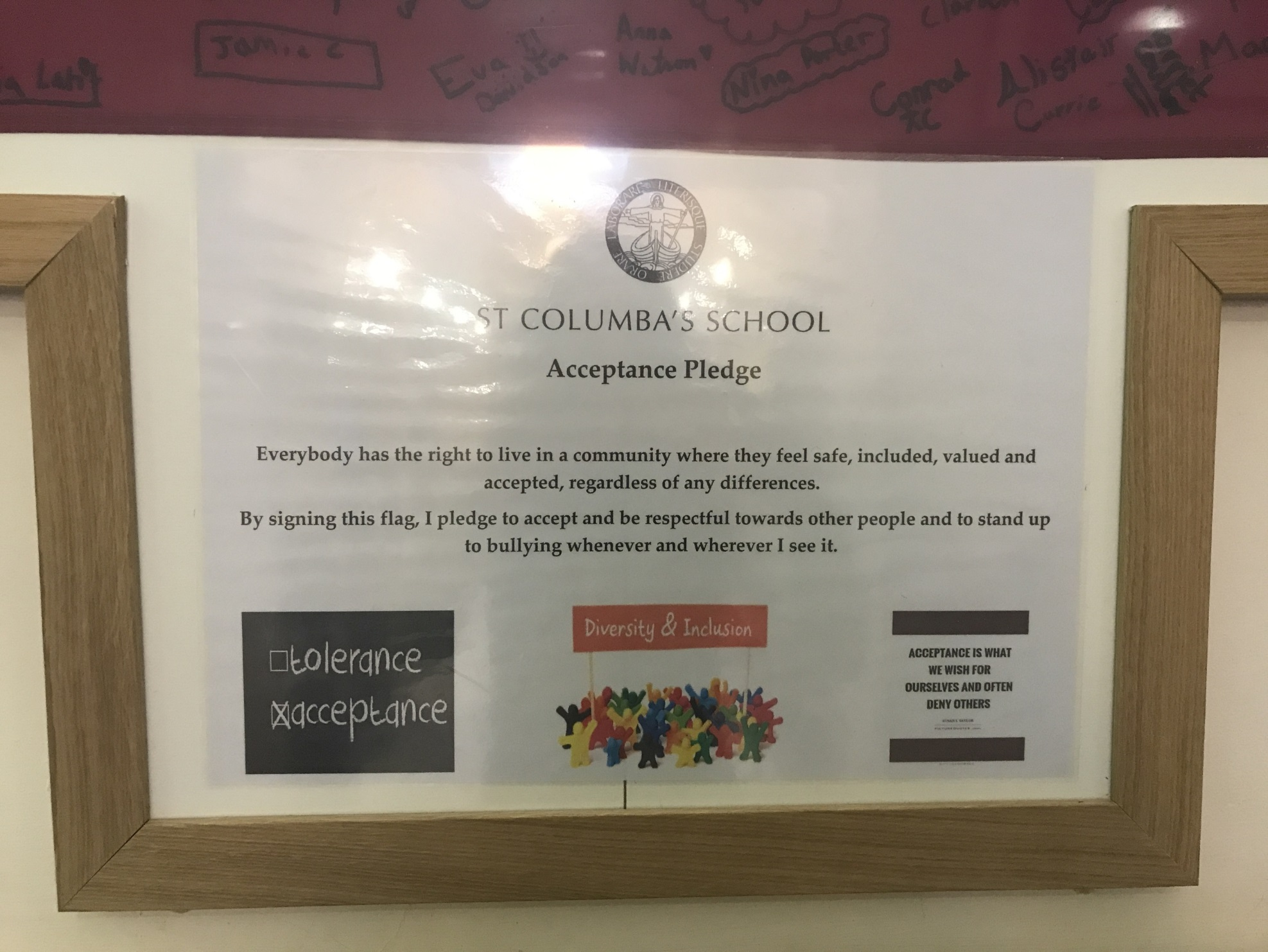 St Columba's LGBT History Month