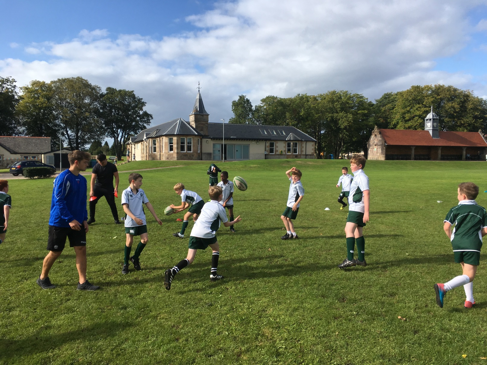 St Columba's Junior 6 Rugby