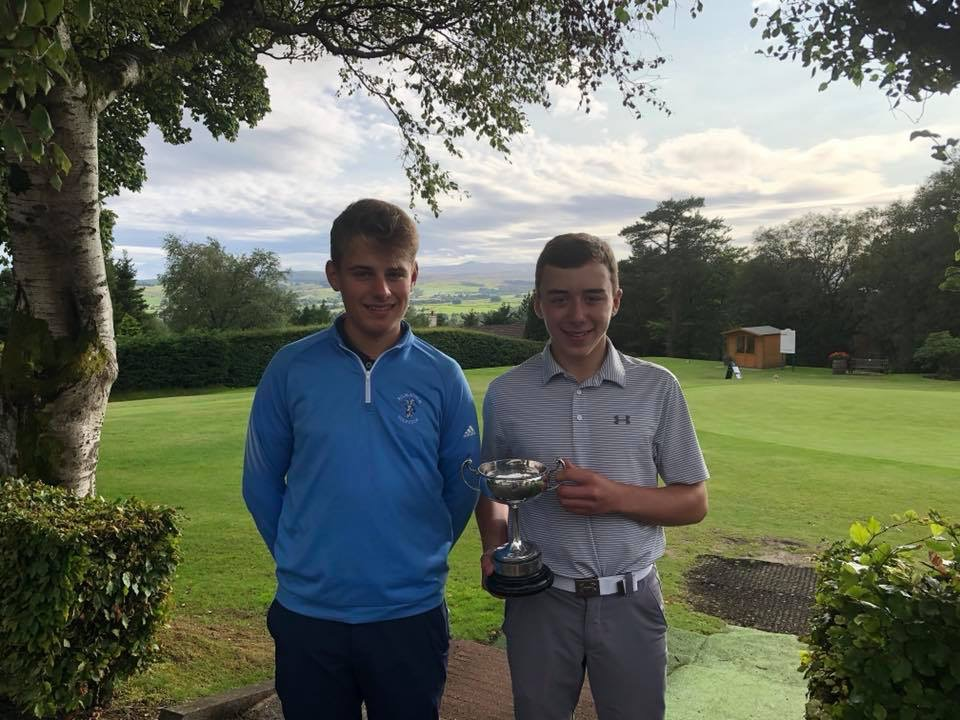St Columba's Pupil is Kilmacolm Golf Clubs Junior Champion
