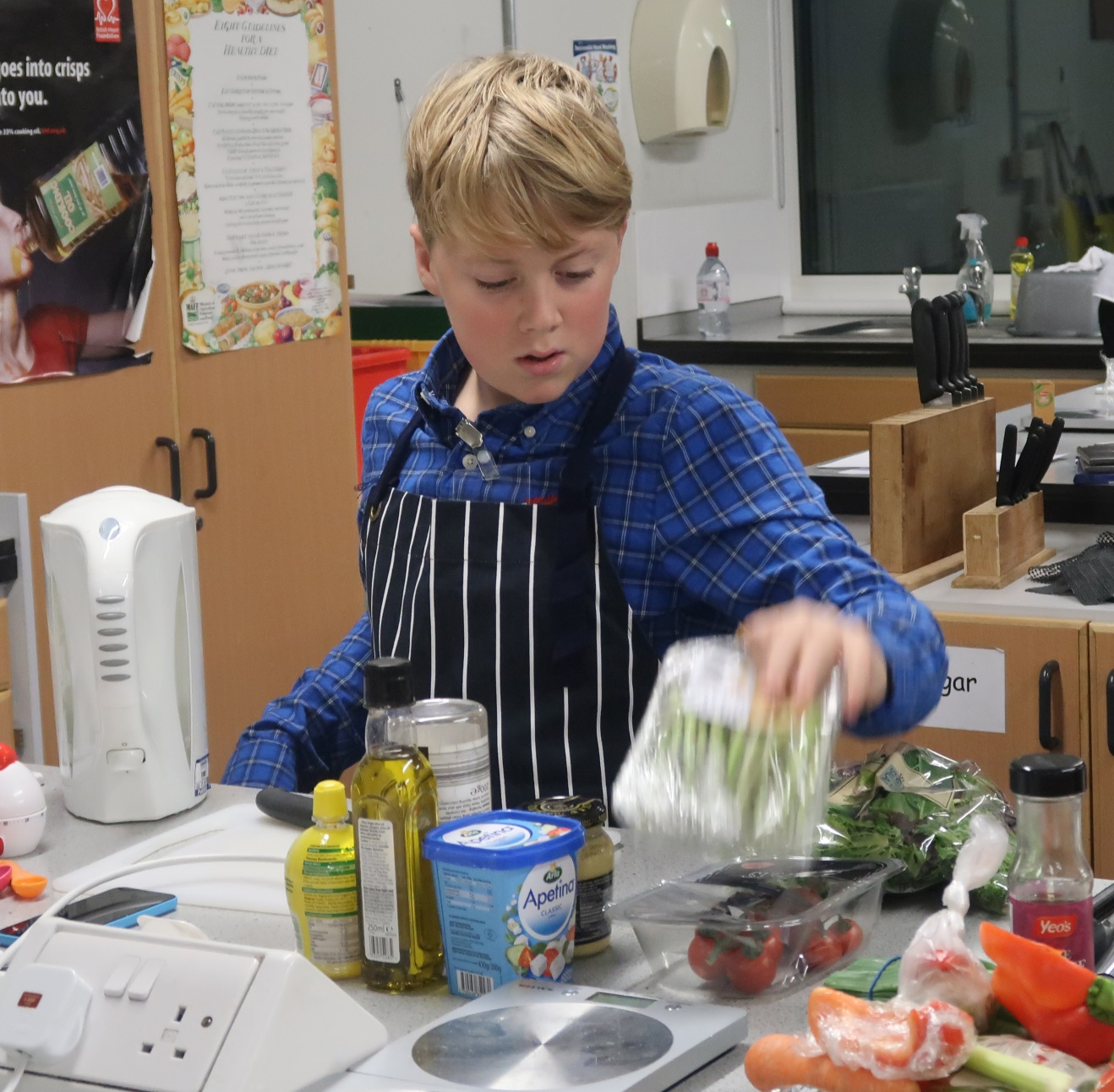 St Columba's Pupils Compete at Young Chef Competition