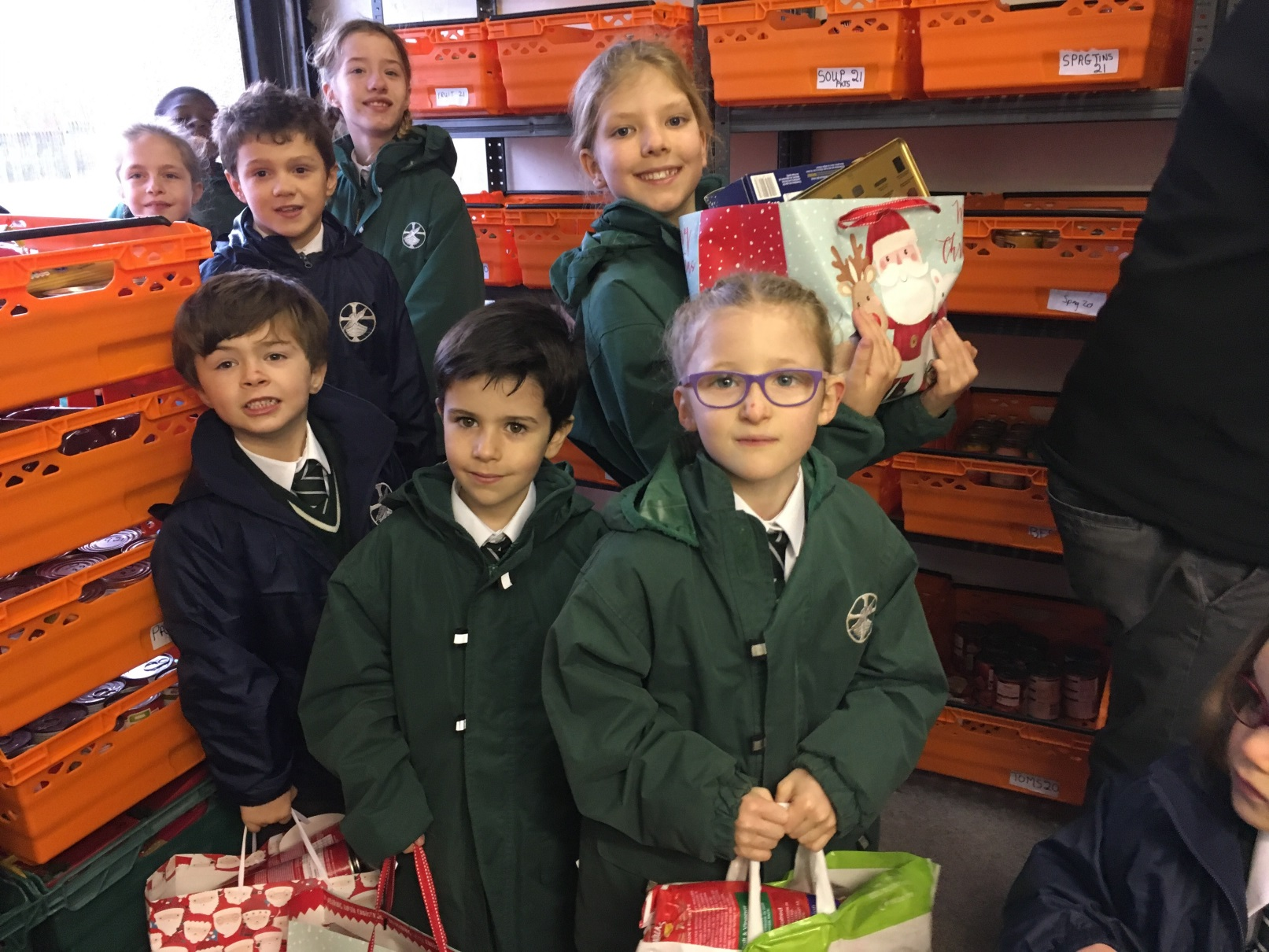 St Columba's continues to donate to Renfrewshire Foodbank
