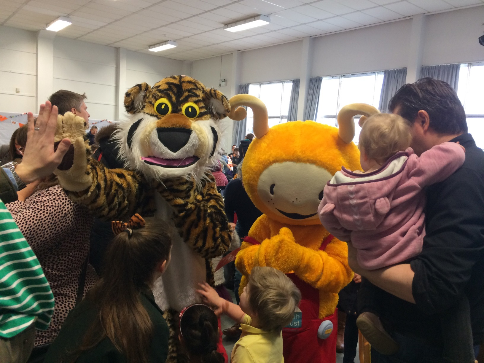 St Columba's Early Years Tiger Tea