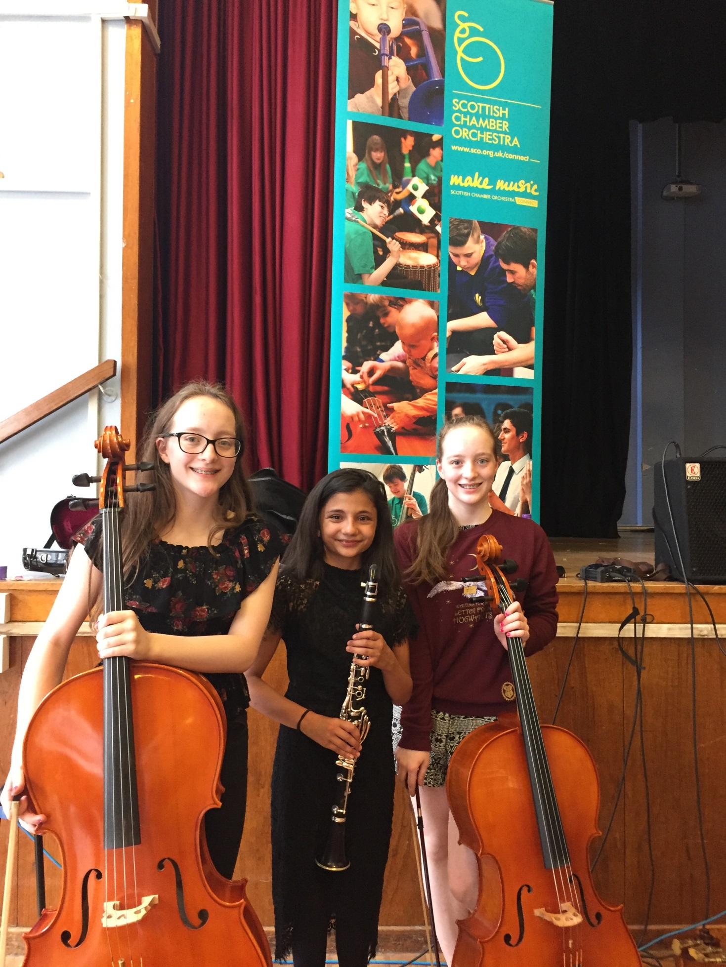 St Columba's Pupils Participate in SCO Vibe