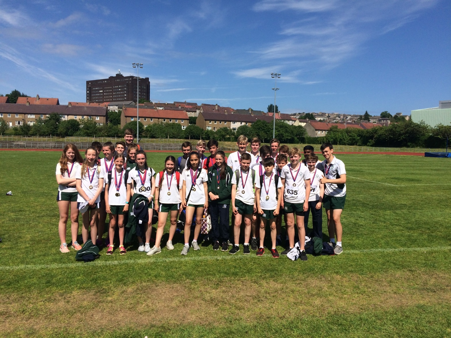 St Columba's School Kilmacolm Inverclyde District Sports