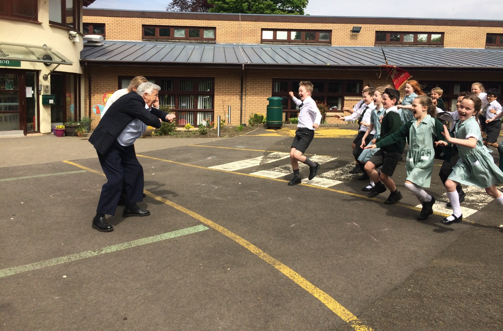 St Columba's School Enjoys a Visit from Campbell Snowdon