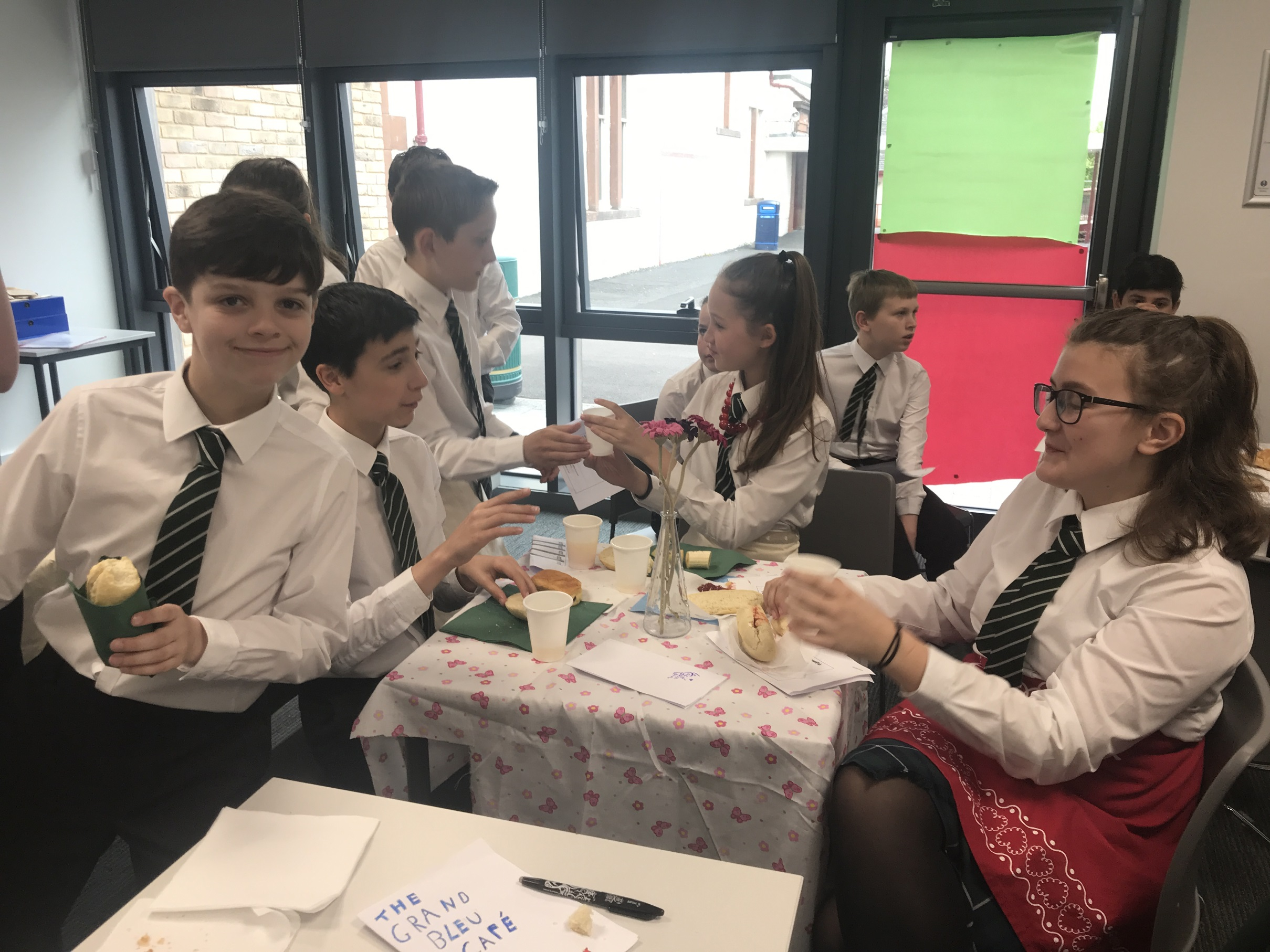 St Columba's French Breakfast
