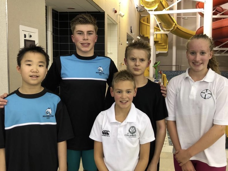 St Columba's Swimmers