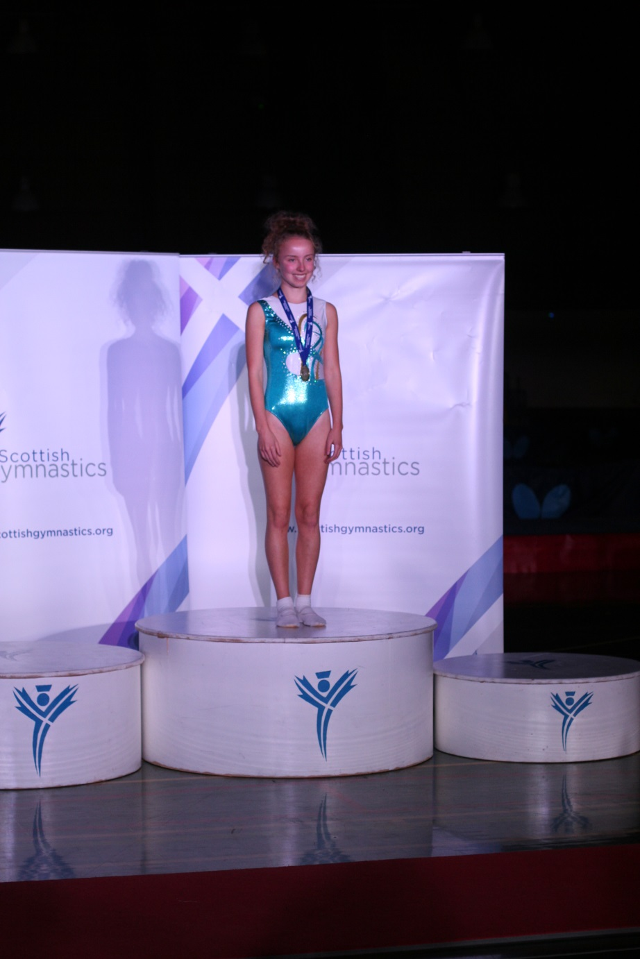St Columba's Pupils Wins Trampolining Gold