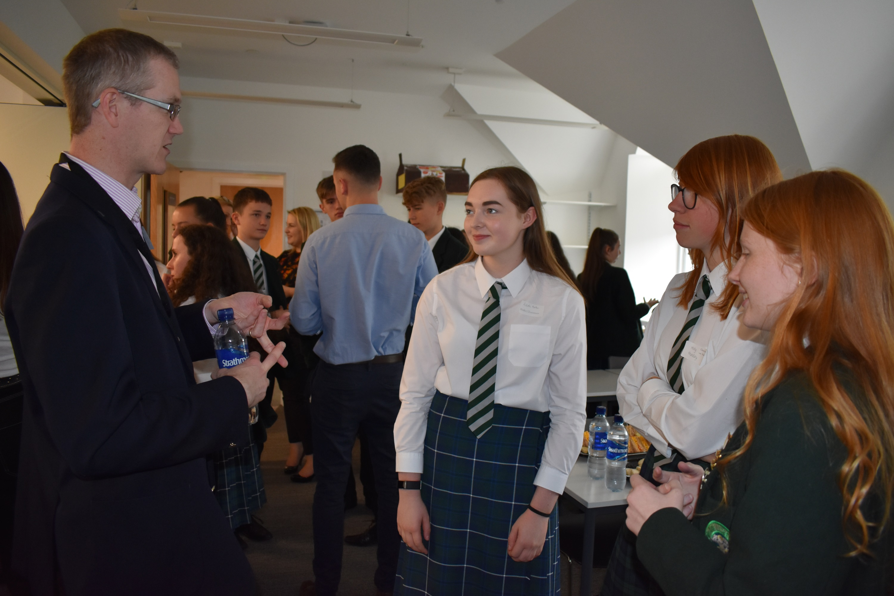 St Columba's STEM Lunch