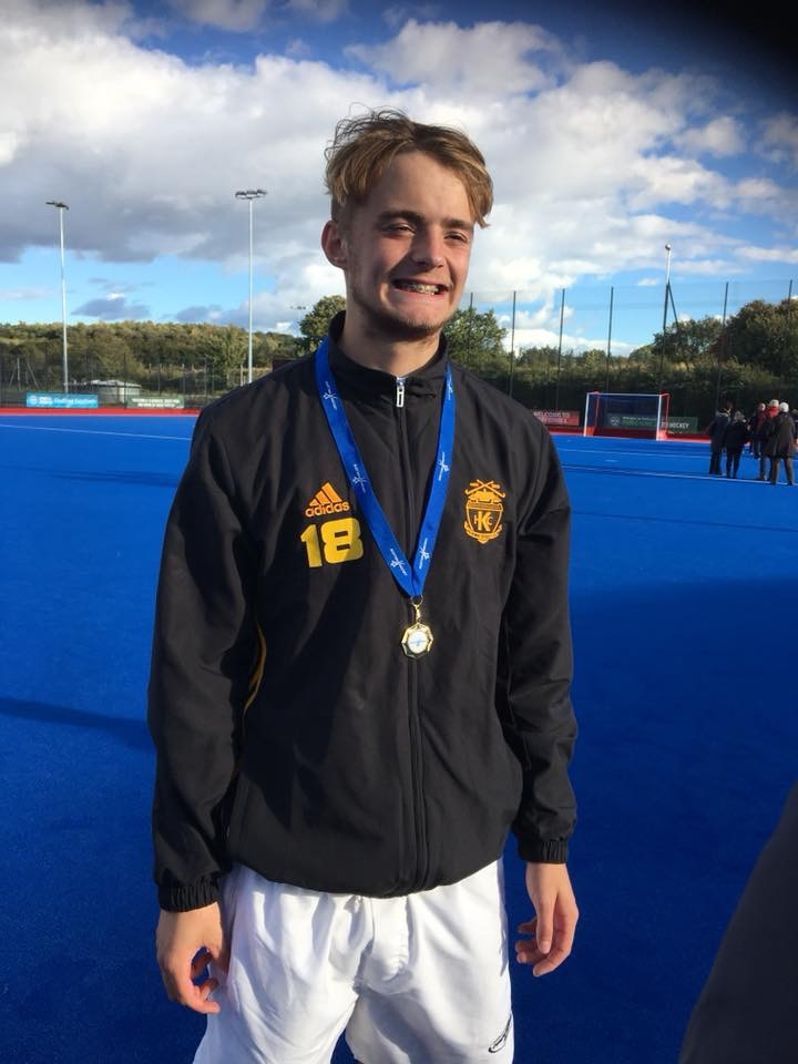 St Columba's Pupil Wins Gold for West Hockey District