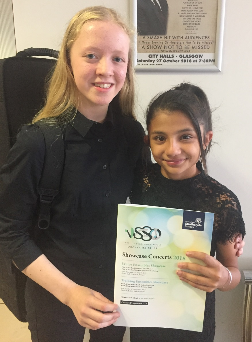 St Columba's Pupils Participate in West of Scotland Schools Orchestra Trust Course