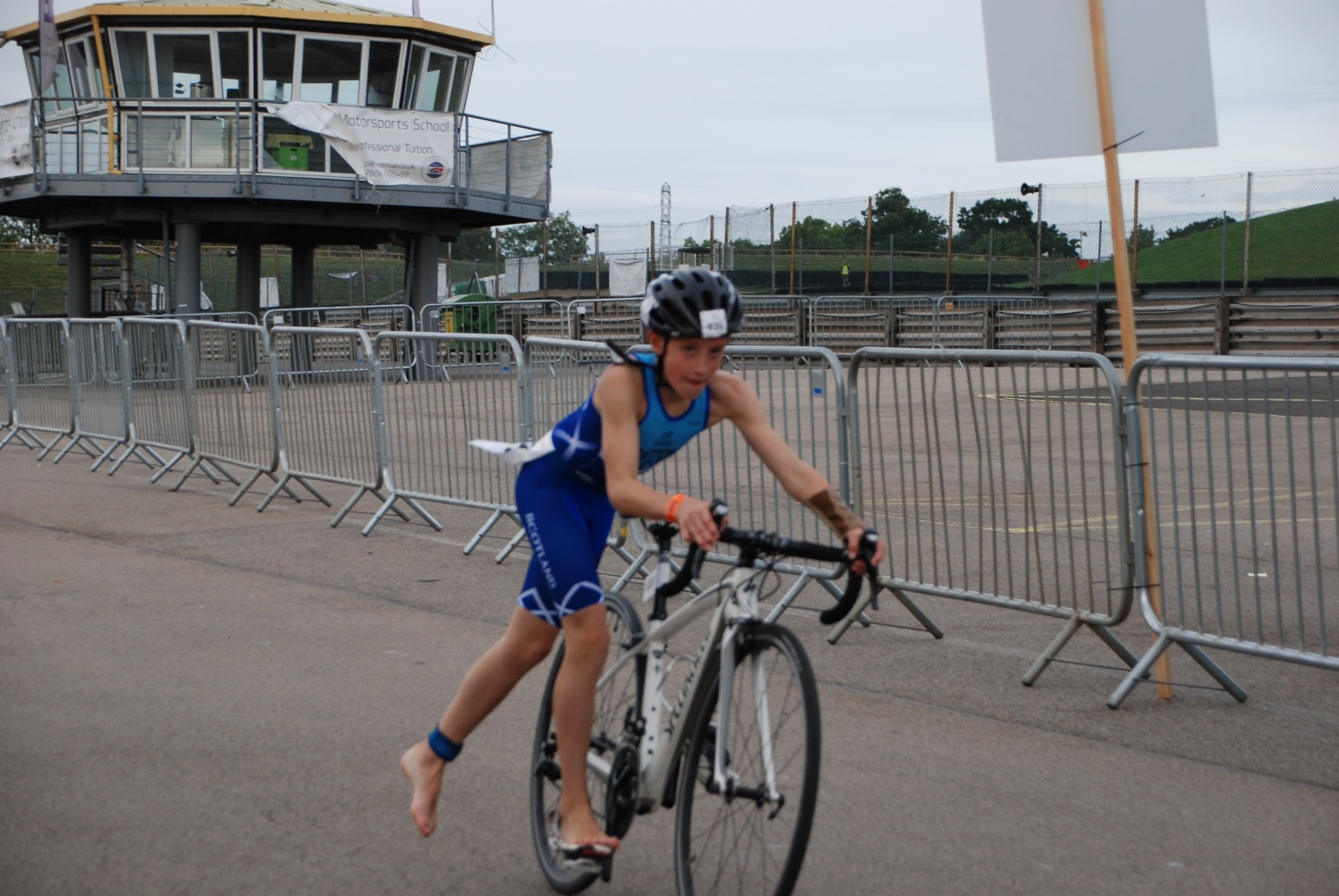 St Columba's pupil competes in the British Triathlon Championships